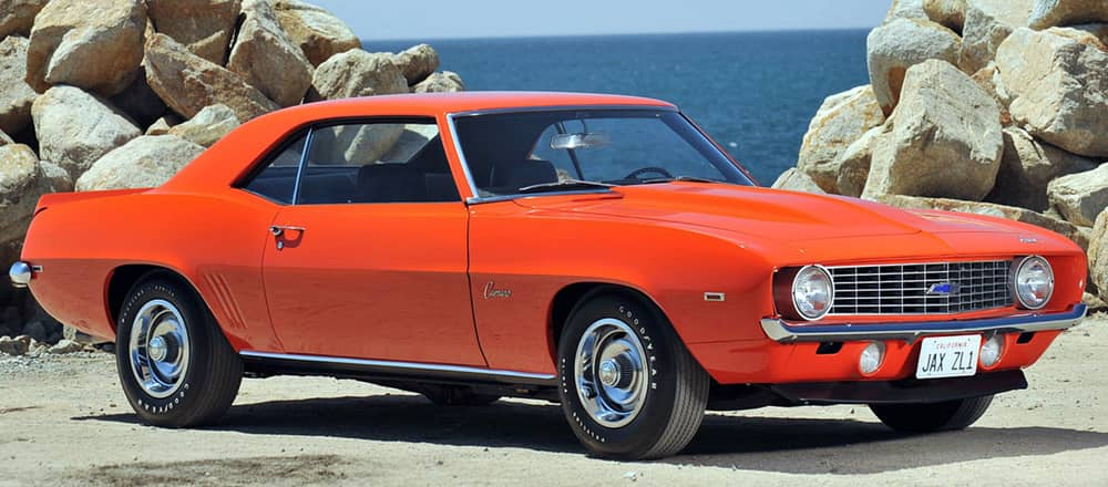 9. 1969-Chevrolet-Camaro-ZL-1