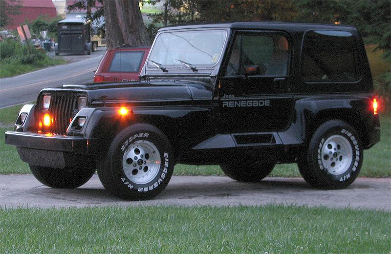 Badass Trucks & Cool SUVs - 91_Jeep_Renegade