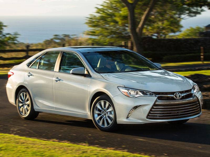 American Made Cars List - 2016-Toyota-Camry
