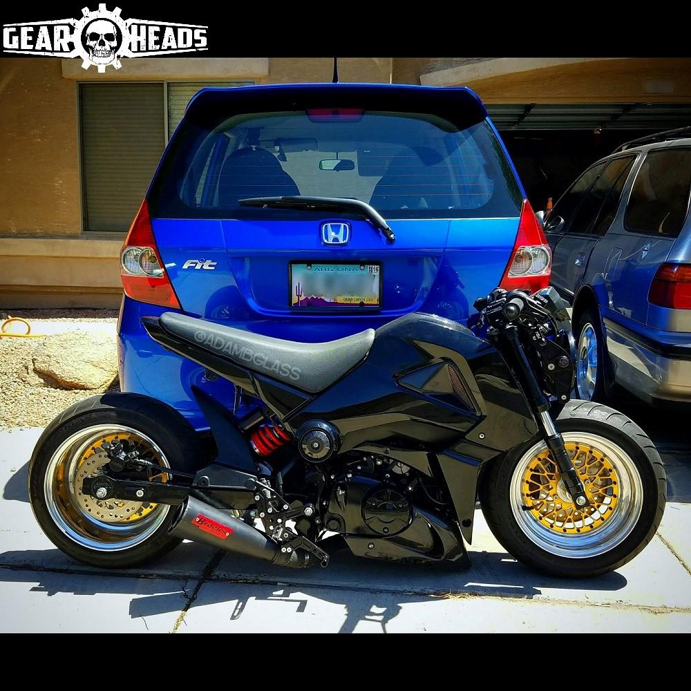 Honda Grom Stretched 5