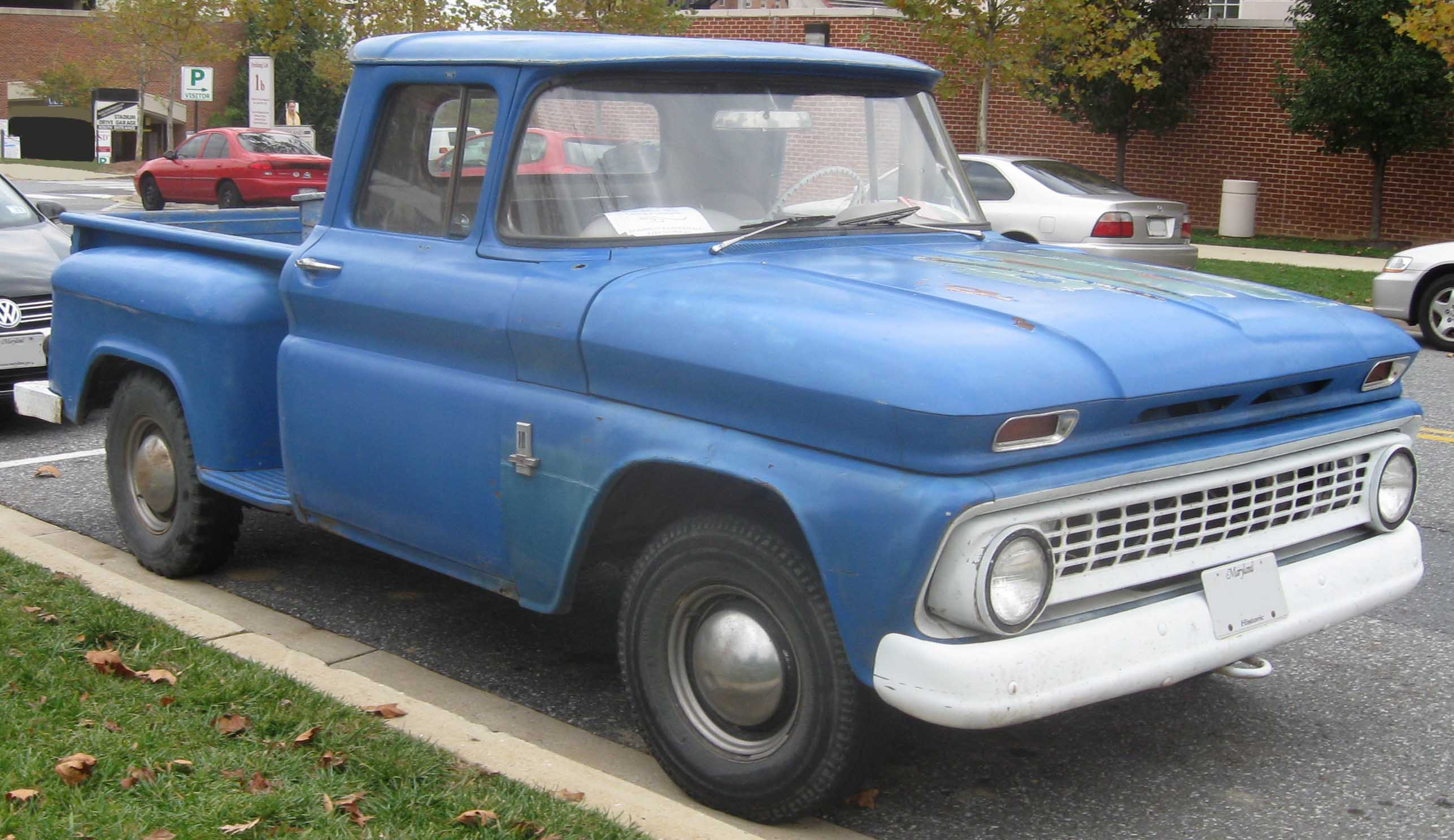 15 Of The Most Revolutionary Pickups Ever Made 1957 Chevy 4 Door Truck Chevrolet Pickup