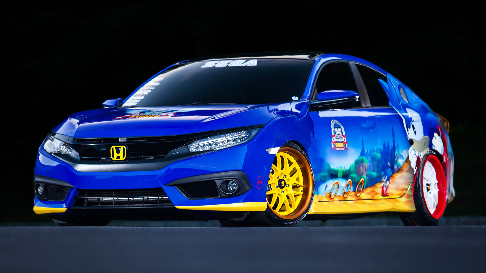 Honda Celebrates 25th Anniversary of Sonic - Image 02