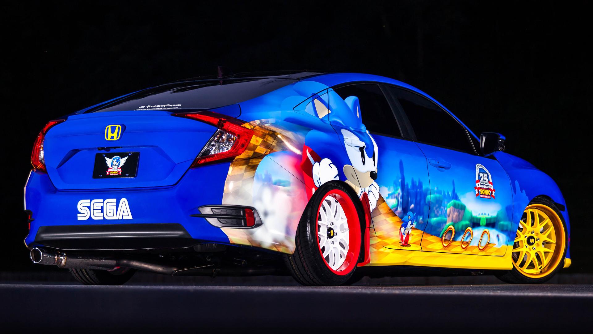 Honda Celebrates 25th Anniversary of Sonic - Image 03