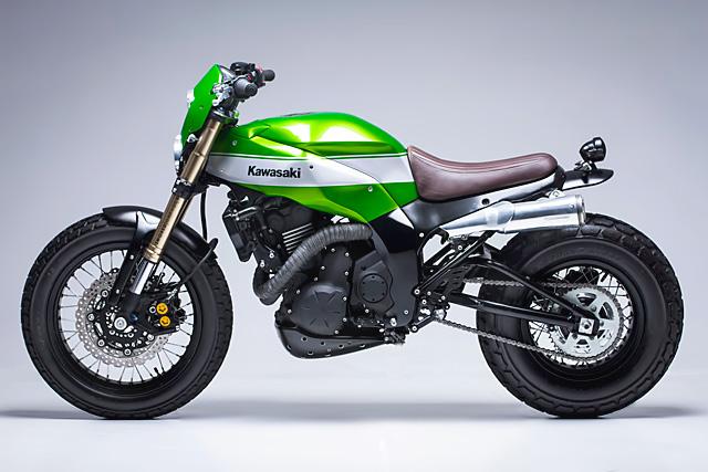 Custom Kawasaki Scrambler 1
