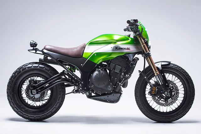 Custom Kawasaki Scrambler 2