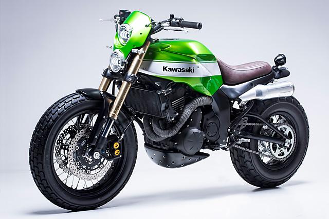 Custom Kawasaki Scrambler 3