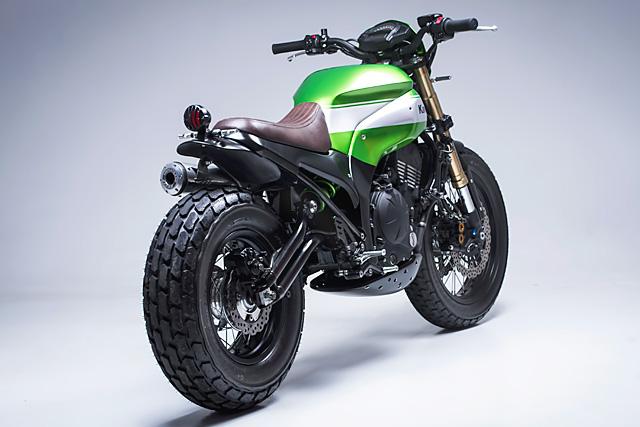 Custom Kawasaki Scrambler 5