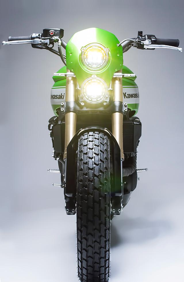 Custom Kawasaki Scrambler 8