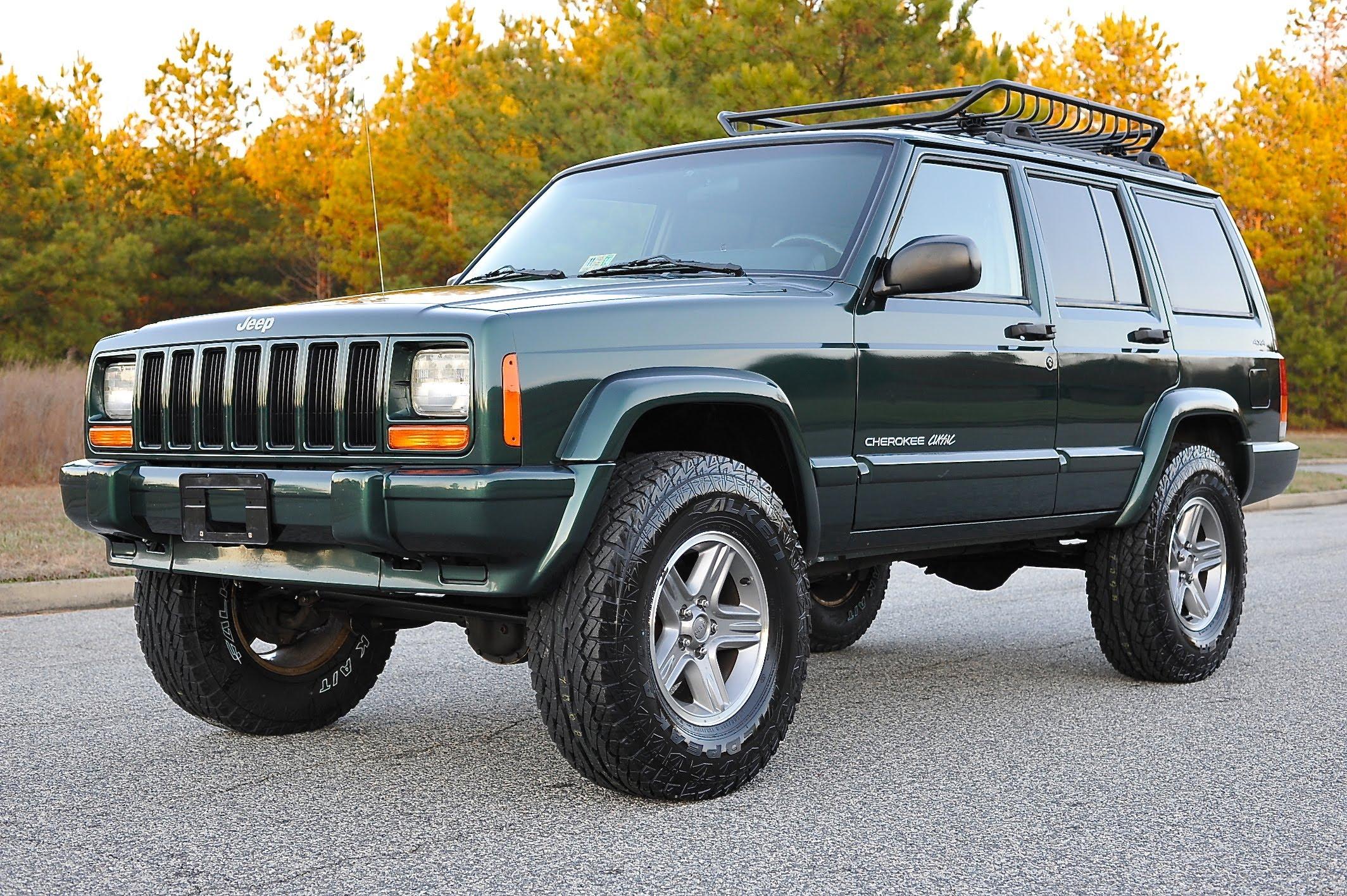 Badass Trucks & Cool SUVs - cherokee