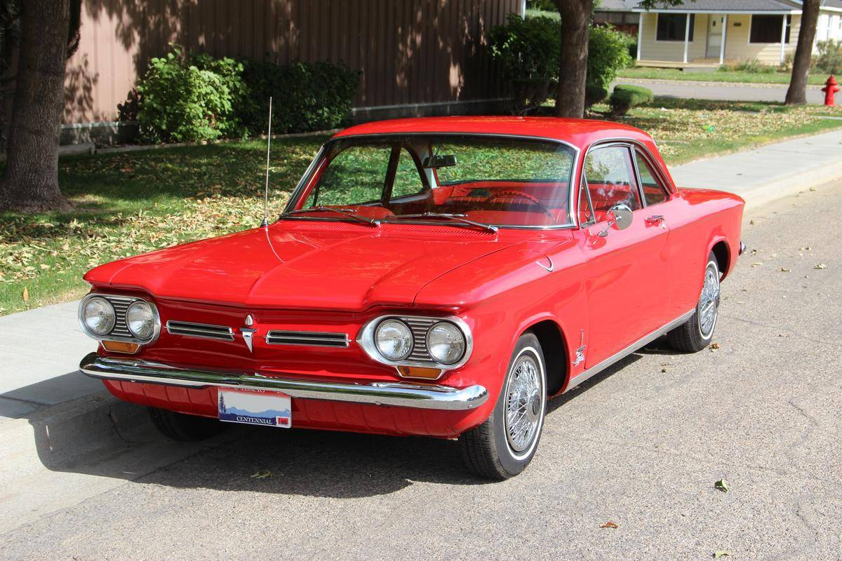 Discontinued Cars - Chevrolet Corvair