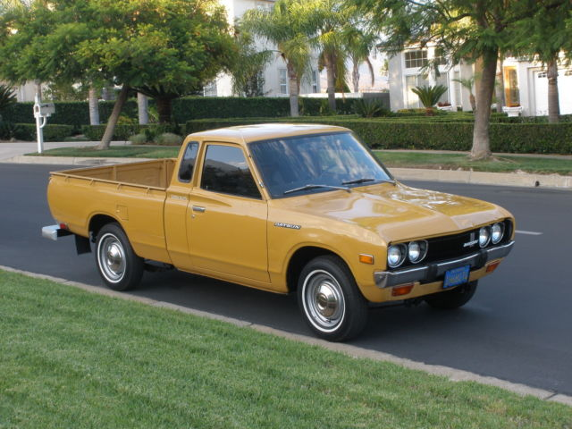 Badass Trucks & Cool SUVs - Datsun Pickup