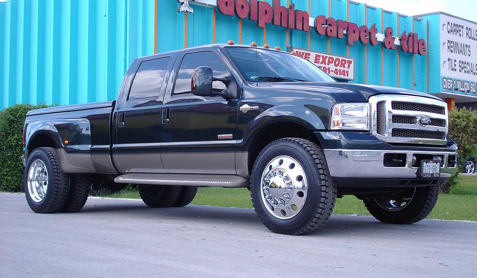 Badass Trucks & Cool SUVs - f-350