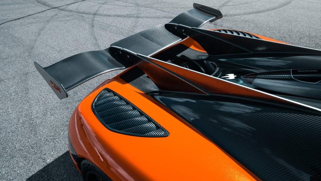 Koenigsegg Agera XS Rear Wing