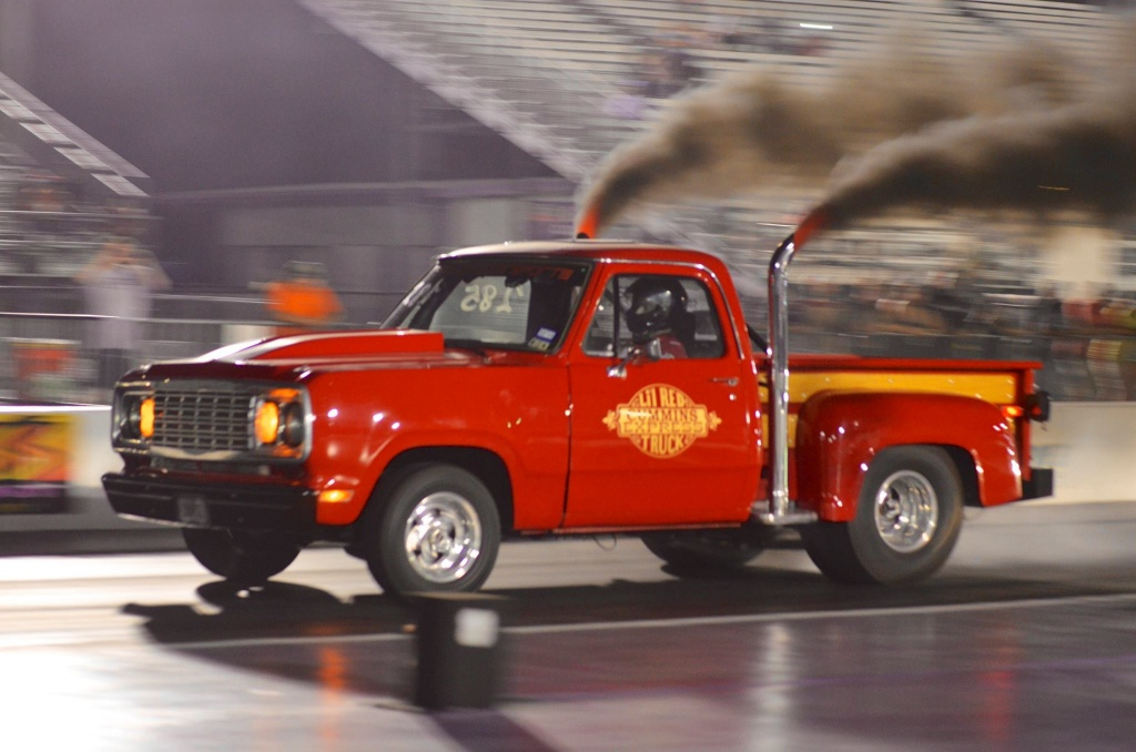 Revolutionary Pickup Truck - Dodge lil red