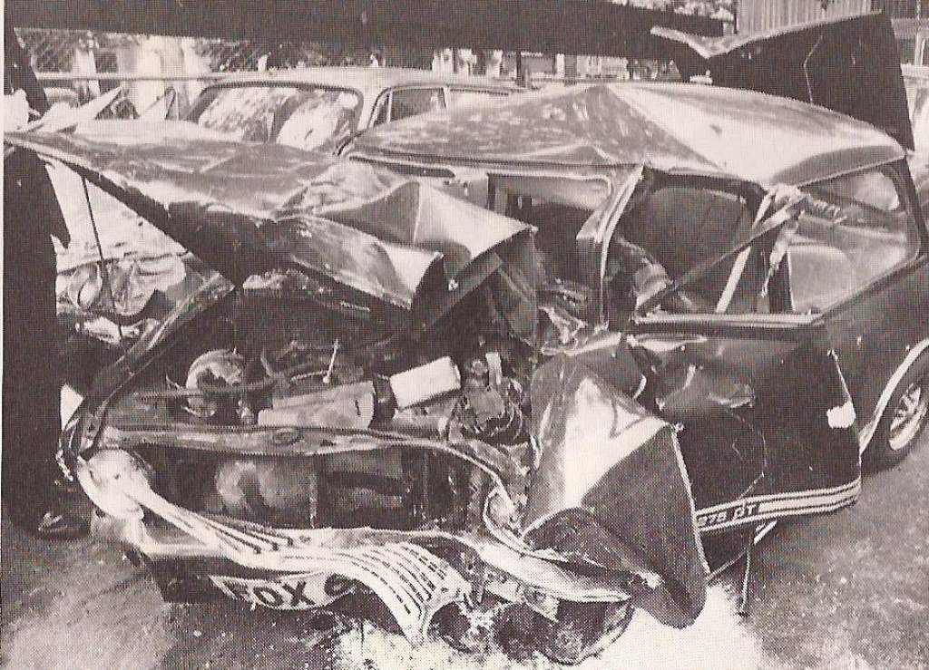 MARC BOLAN's fatal car accident