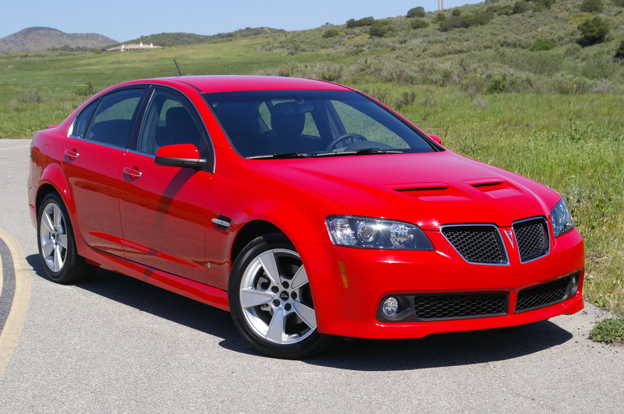 Discontinued Cars - Pontiac G8