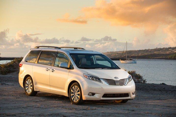 American Made Cars List - Toyota Sienna