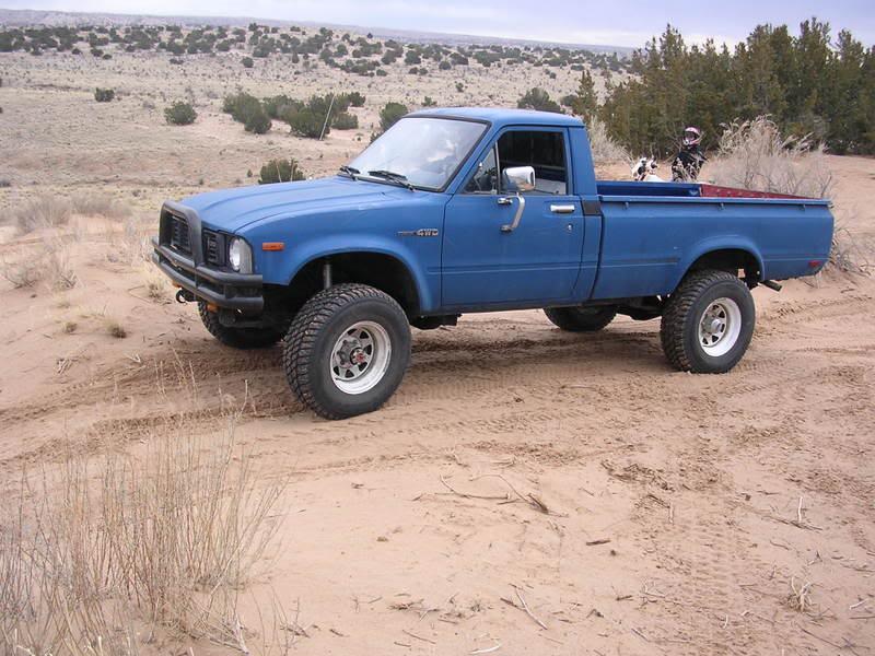 Badass Trucks & Cool SUVs - toyota-hilux-1980