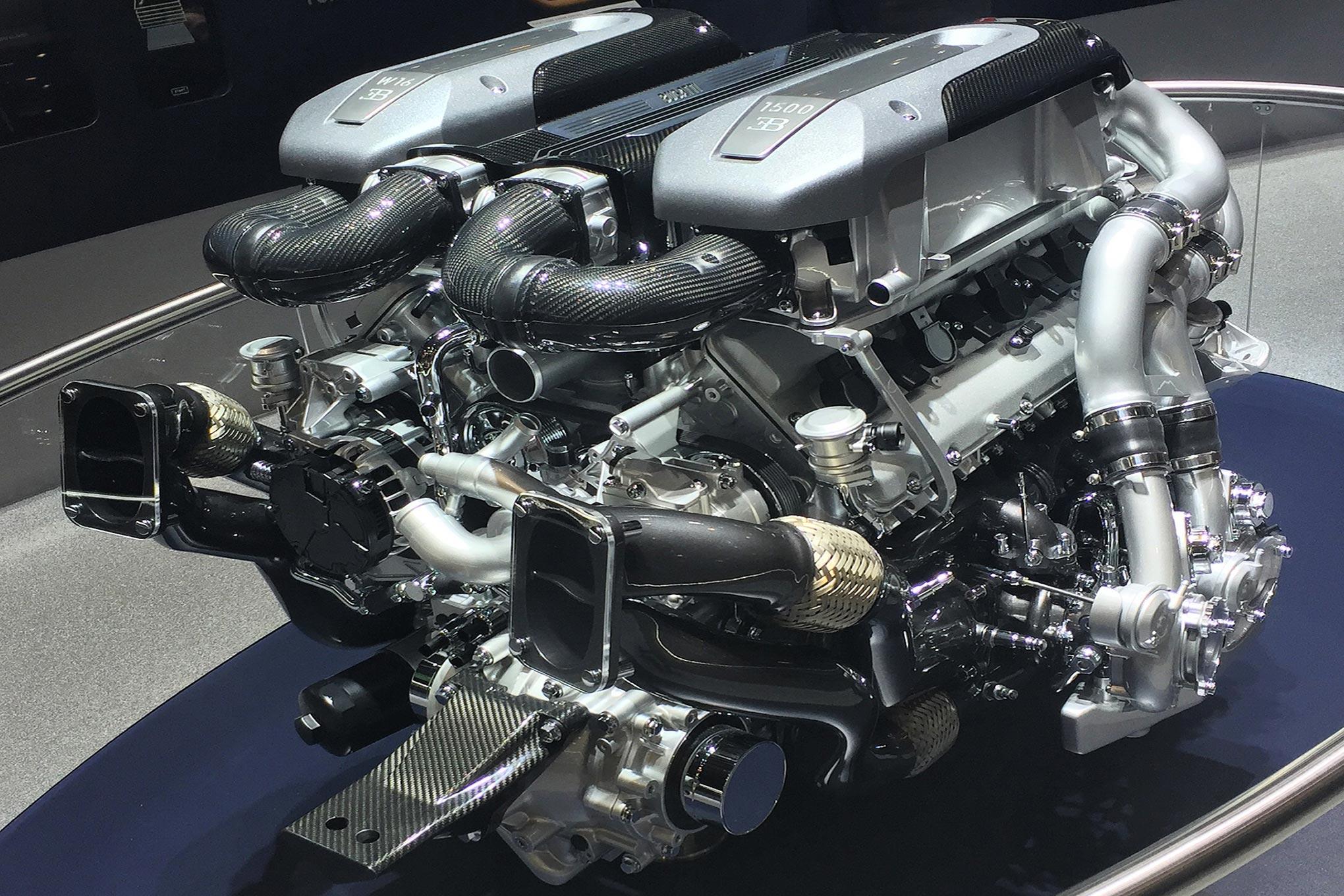 Bugatti Chiron Facts - Cooling