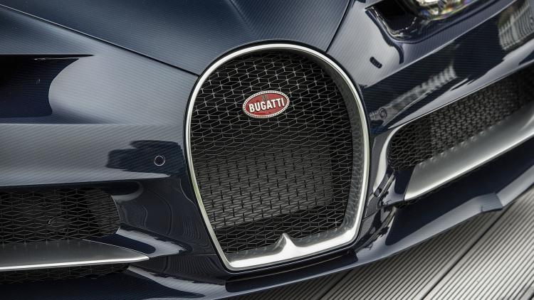 Bugatti Chiron Facts - Front