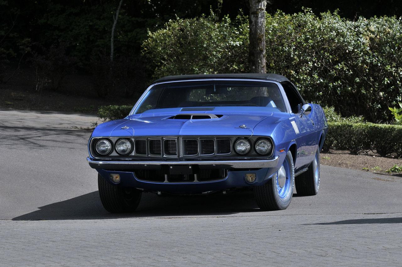 Convertible Muscle Cars - plymouth-hemi-cuda-convertible-1