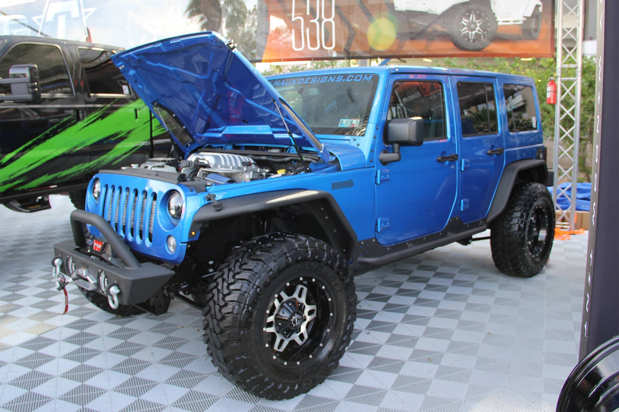 Best Engine Swaps - hauk-design-jeep-wrangler-hellcat