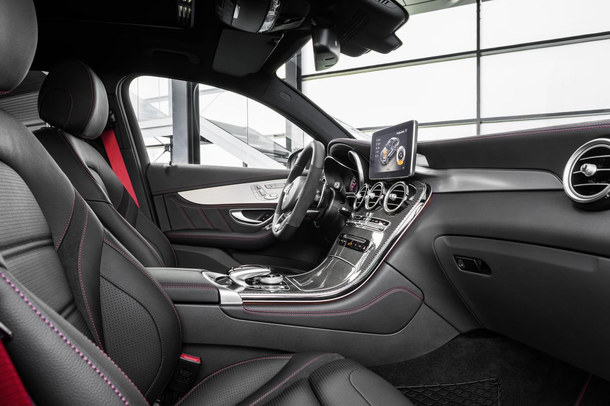 2017 Mercedes-AMG GLC43 Coupe (European model shown)