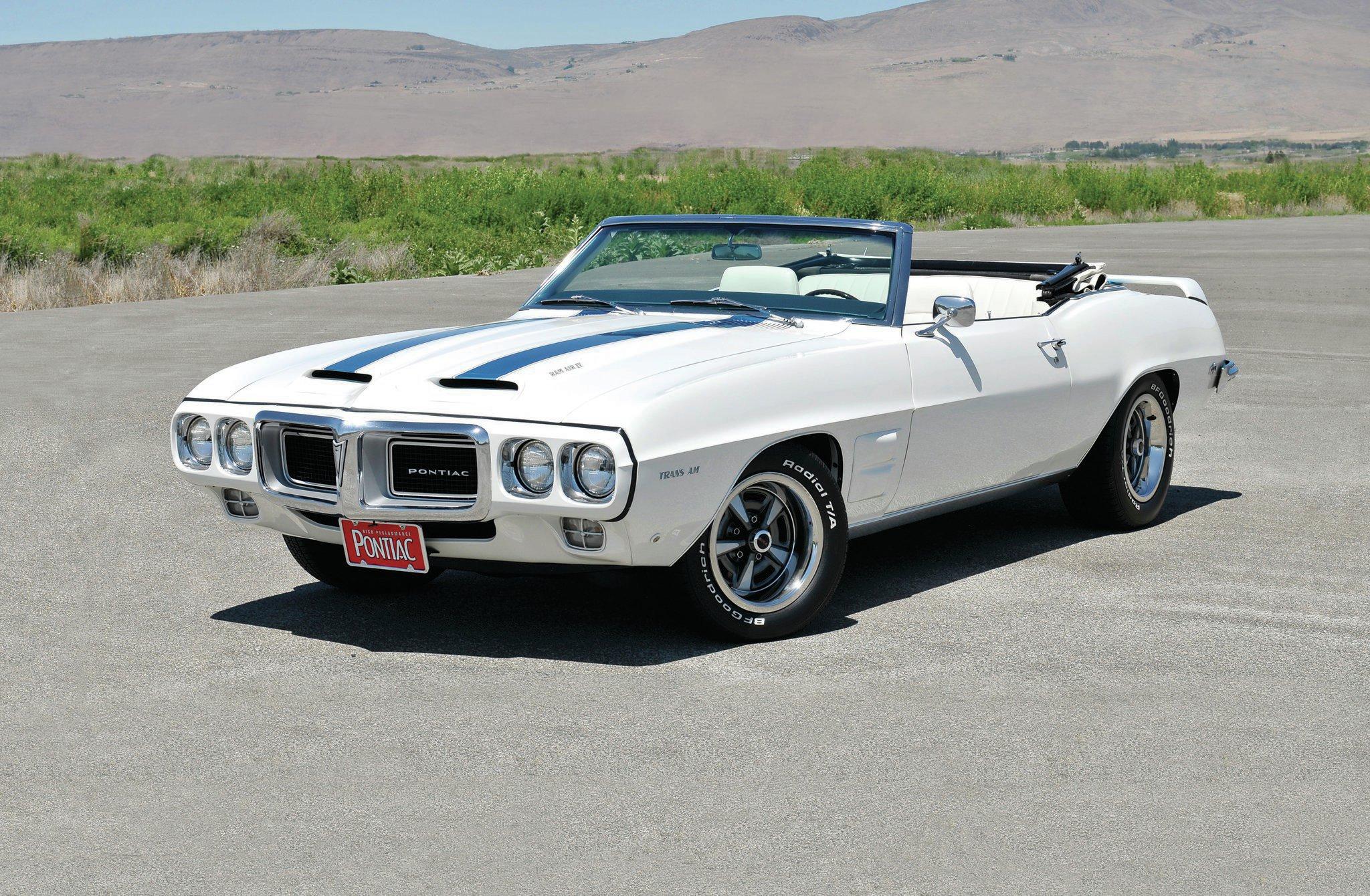 Convertible Muscle Cars - 1969-pontiac-trans-am