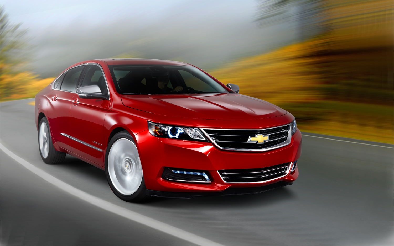 Facelift Cars - 2014 Chevrolet Impala front-three-quarter-in-motion