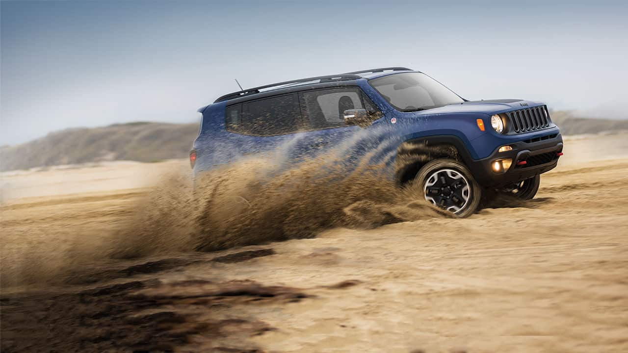Vehicles Most Likely To Roll Over - Jeep Renegade