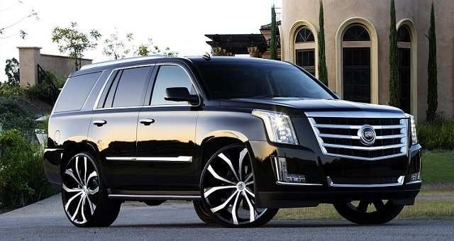 Vehicles Most Likely To Roll Over - Escalade