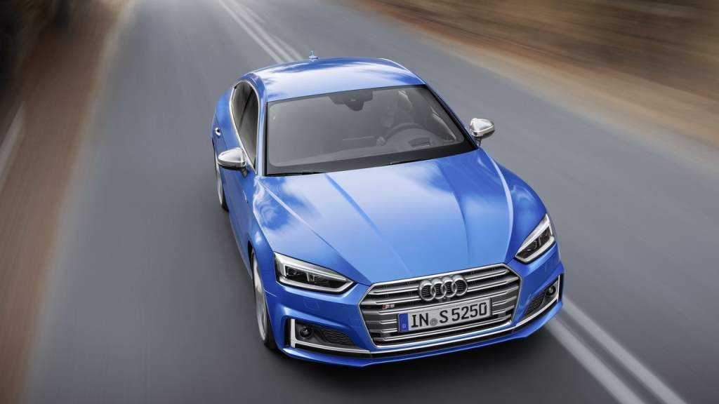 2018 Audi S5 Sportback Top View Front