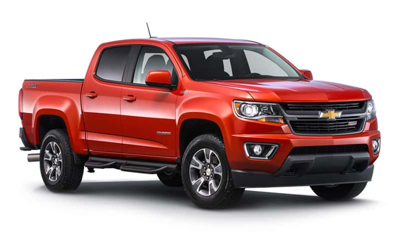 Vehicles Most Likely To Roll Over - Chevy Colorado