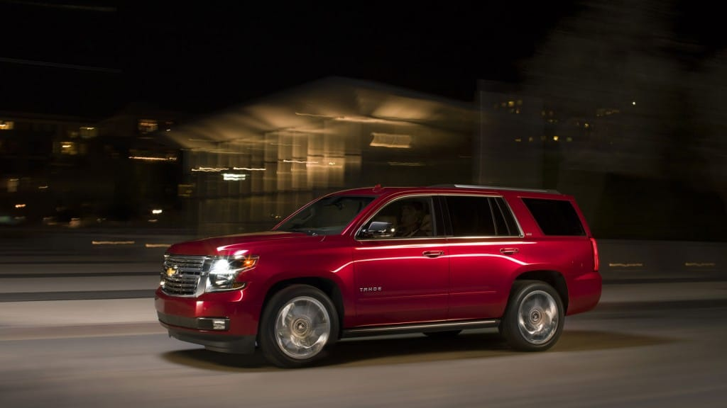 Vehicles Most Likely To Roll Over - Chevy Tahoe
