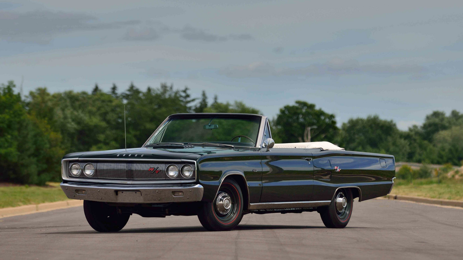 Convertible Muscle Cars - Dodge coronet