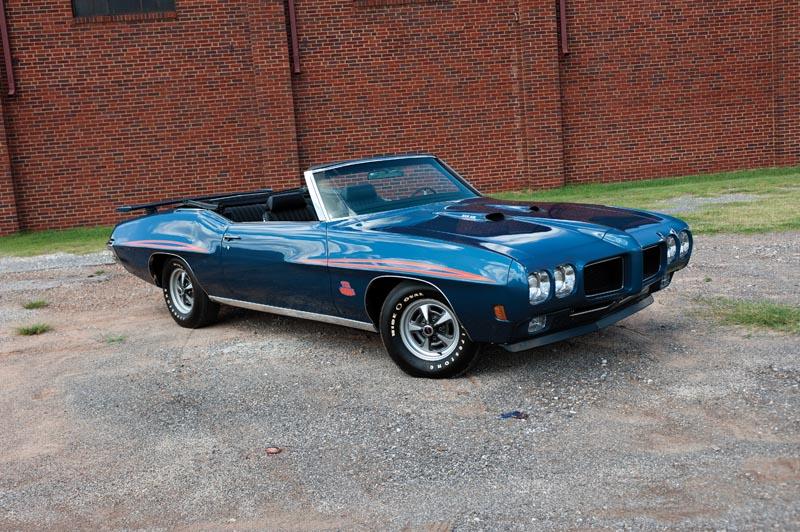 Convertible Muscle Cars - Pontiac gto