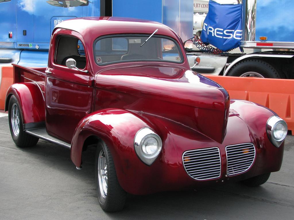 Vintage Trucks - Willys Pickup