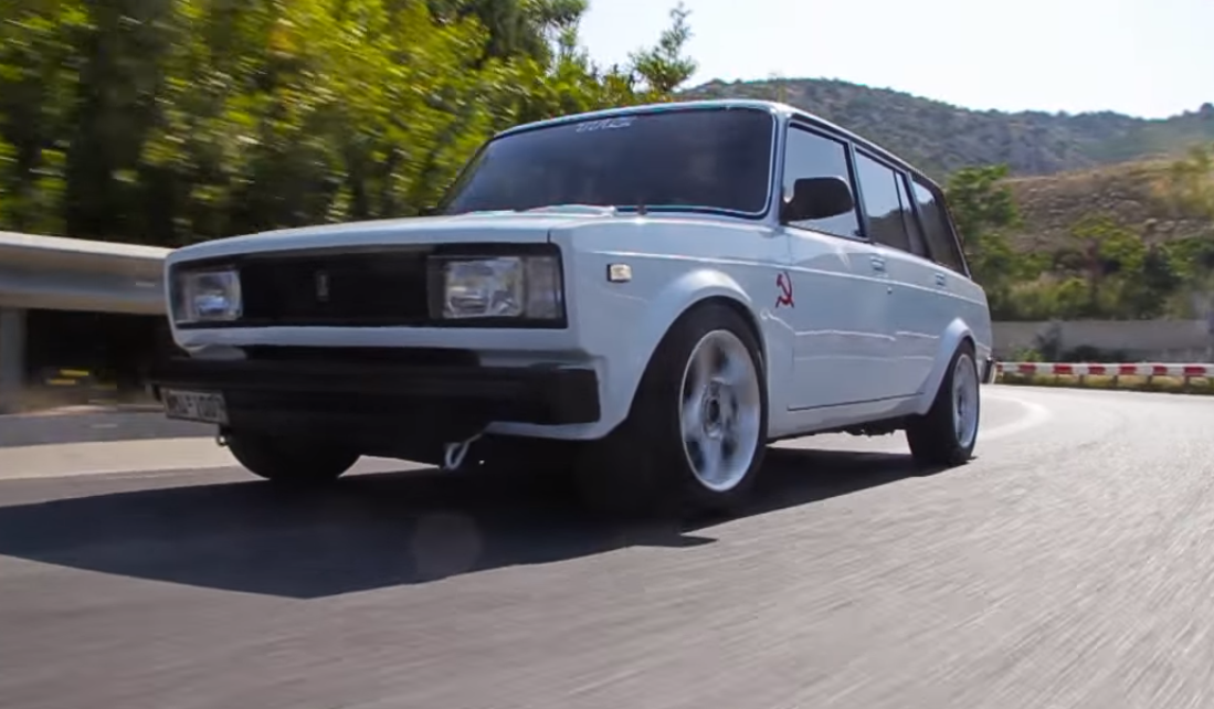 Best Engine Swaps - Lada Nissan