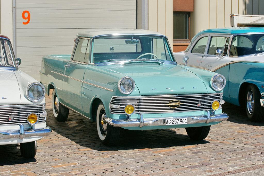 Vintage Trucks - Opel Rekord Pickup p2