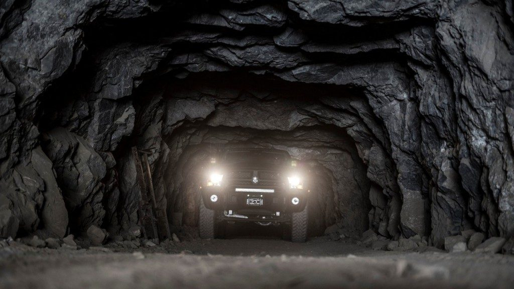 AEV Prospector XL Headlight View