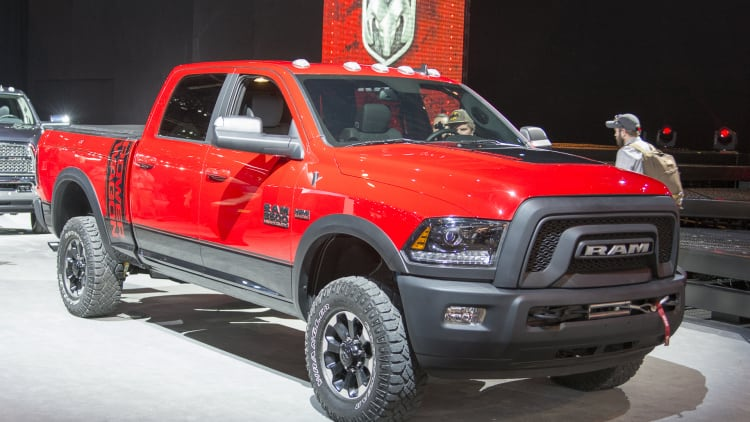 Vehicles Most Likely To Roll Over - RAM 2500