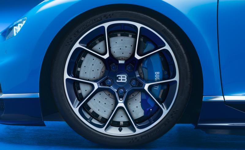 Bugatti Chiron Facts - Wheels