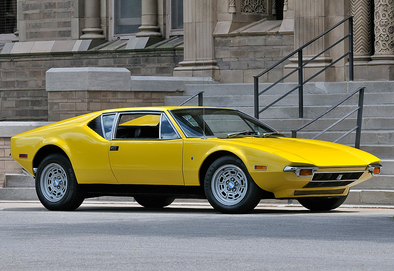 The Wedge Car - De Tomaso Pantera