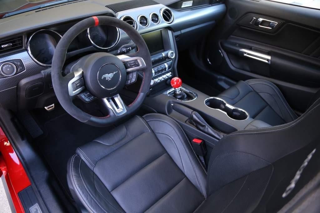 Steeda Q750 Streetfighter Mustang interior