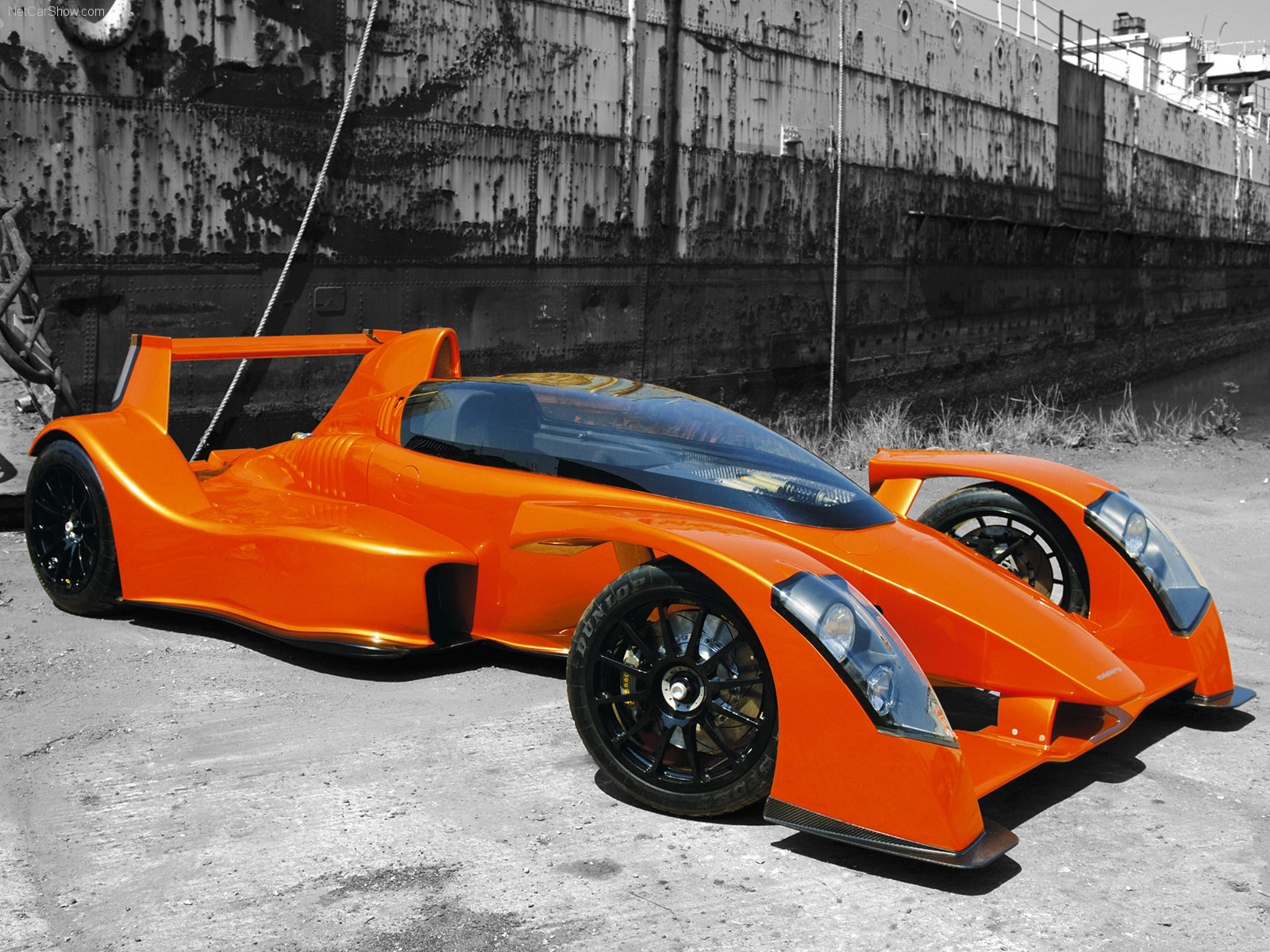 Ugly Supercars - caparo-t1