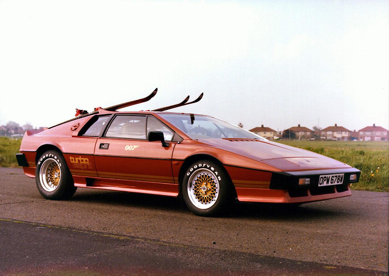 Affordable Bond Cars - lotus_turbo_esprit
