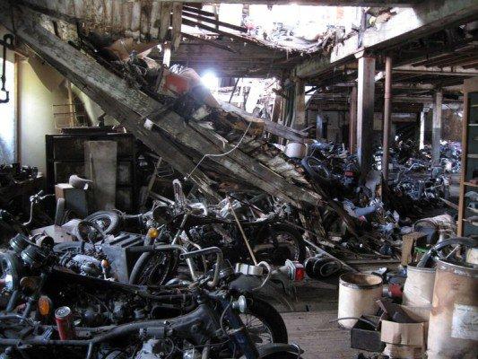 New York Motorcycle Graveyard 9