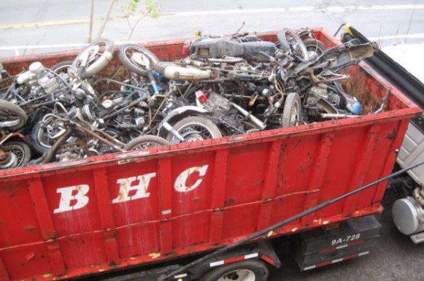 New York Motorcycle Graveyard 14