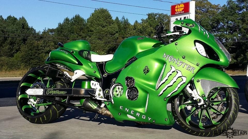 Monster Custom Hayabusa 2