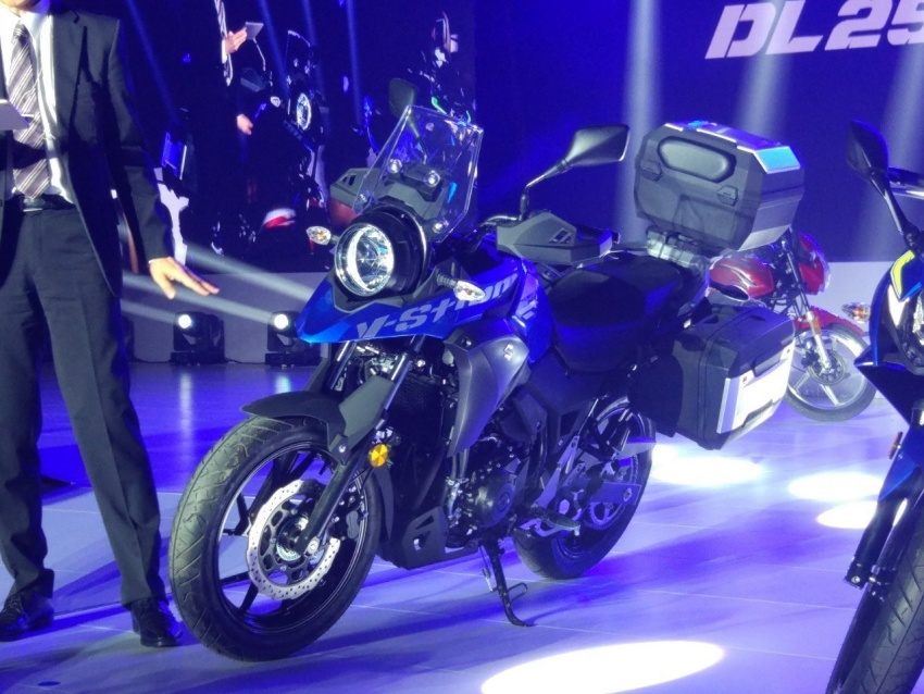 Suzuki GSX-R250 & Suzuki V Strom 250 8